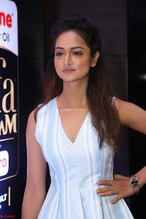 Shanvi Looks super cute in Small Mini Dress at IIFA Utsavam Awards press meet 27th March 2017 109.JPG