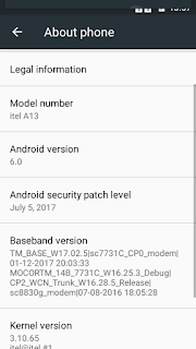 Itel A13 Flash File download | SP7731C Stock Firmware File