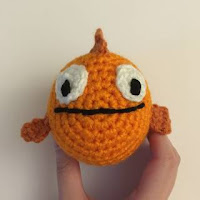 Nemo orange clown fish amigurumi. Make your kids their own Nemo ... | 200x200