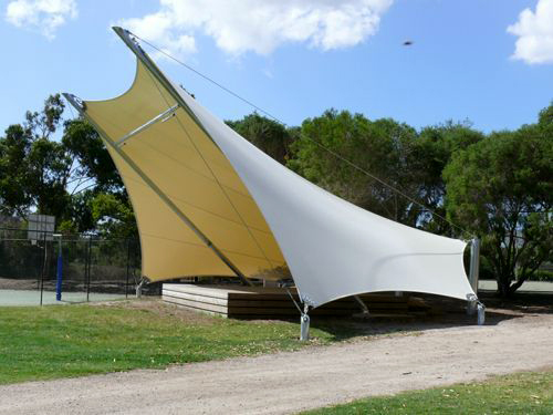 membrane awning semarang