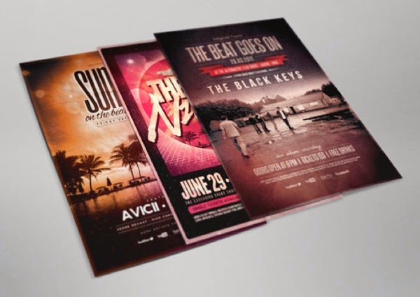 Download Flyer Mockup Gratis - FLYER AND POSTER MOCKUP 01
