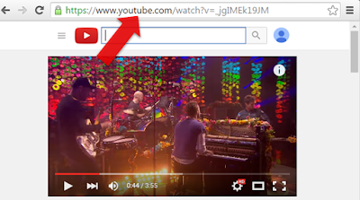 Copiar URL de video YouTube