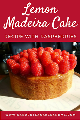 Lemon madeira cake Recipe with Raspberries afternoon tea ideas