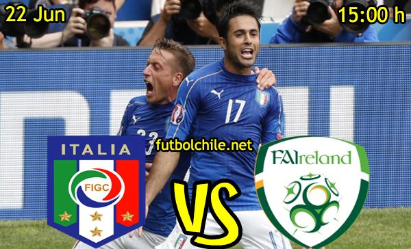 VER STREAM RESULTADO EN VIVO, ONLINE: Italia vs República de Irlanda