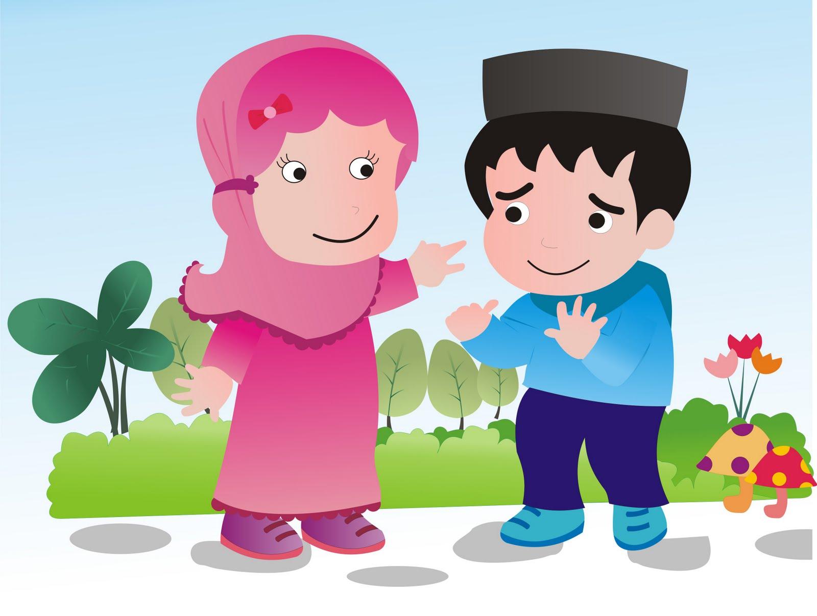 Gambar Kartun Islami Terbaru