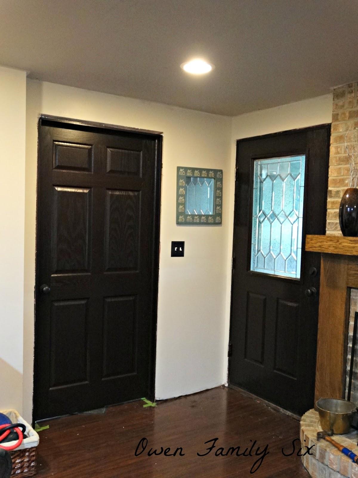 Owen Family Six Basement Doors