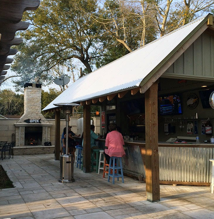 Local Restaurant Review: Cornerstone Kitchen on Backyard Bar With Roof id=11373
