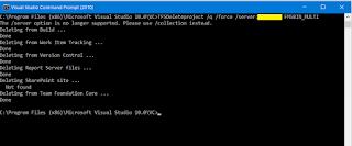 Delete Team Project In Team Foundation Server 2008