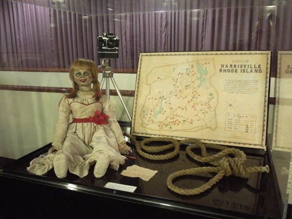 The Conjuring movie props