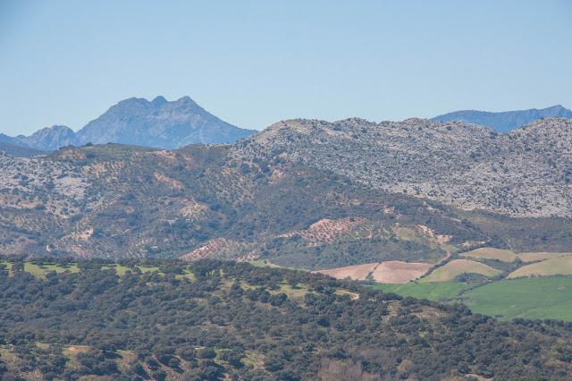Vista do Tajo de Ronda, parte da Andaluzia, na Espanha.