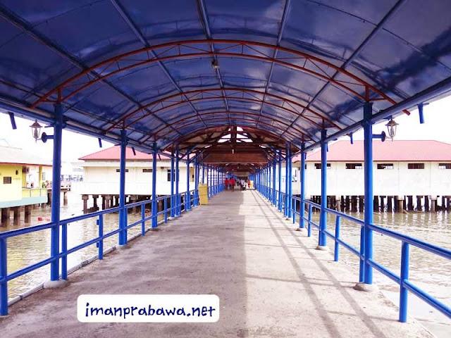 Menuju Pelabuhan Sri Bintan Pura