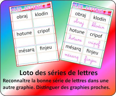 Identifier la lettre dans ses différentes graphies, cursif script minuscule