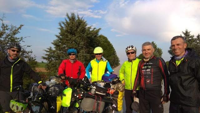 6 συνταξιούχοι Τούρκοι ποδηλάτες έρχονται στο Ναύπλιο με μήνυμα  «Ειρήνη στον κόσμο»