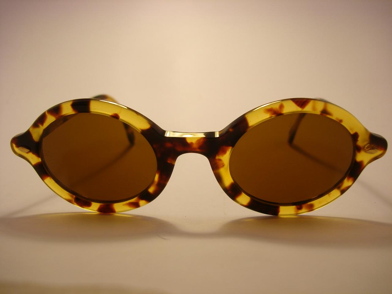 bc3c49feb8 Giorgio Armani Vintage Round Sunglasses