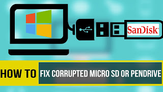 HOW TO FIX CORRUPTED MEMORY CARD OR USB DRIVES