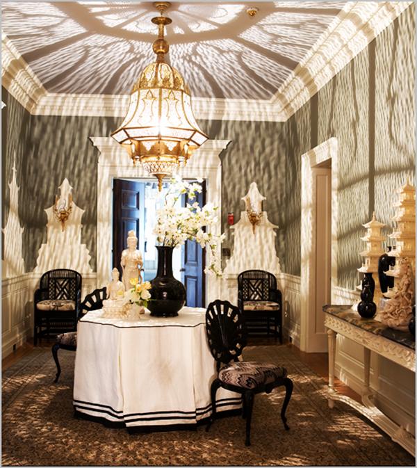 Classic Home Decorating Ideas: Blanco Interiores: O Hall Da Mesa Redonda!...The Round