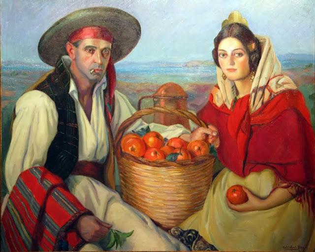Cristobal Bou Alvaro, Maestros españoles del retrato, Retratos de Cristobal Bou, Pintor español, Pintor Cristobal Bou, Pintores de Castellón, Pintores españoles