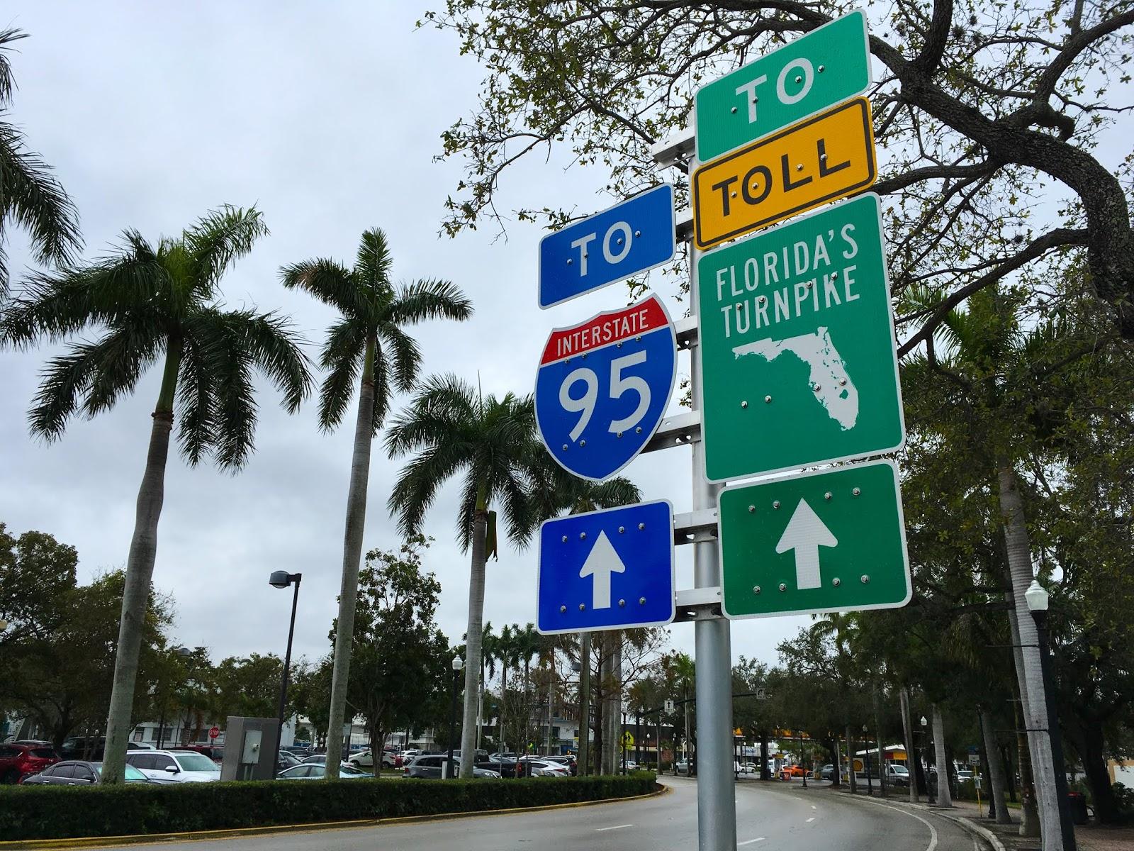 Toll roads in Florida