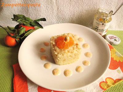 Risotto con marmellata di mandarino