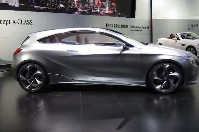 Mercedes -Benz A-Class  interior car review