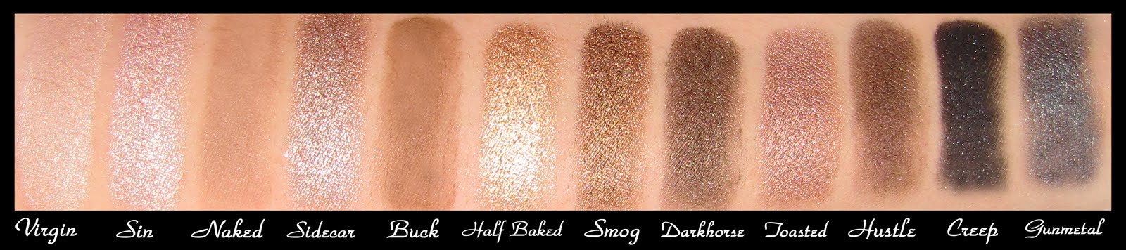 Beauty Deviant Urban Decay Naked Palette