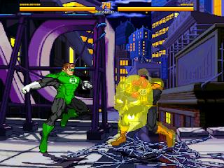 Mugen Green Lantern vs Sinestro