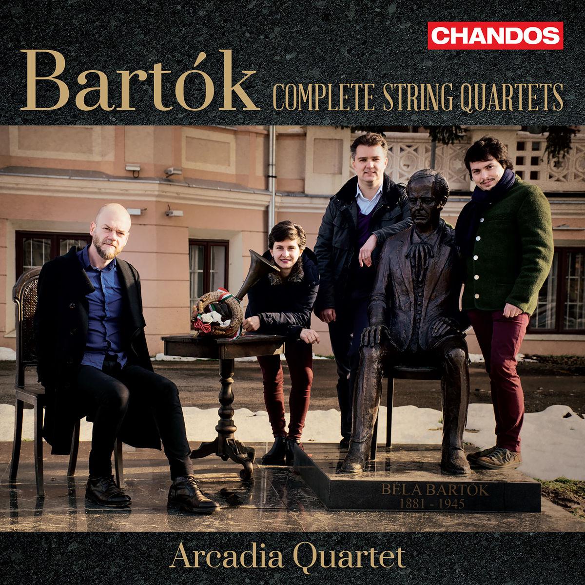 7f1c8bdeaae Arcadia Quartet BARTÓK Complete String Quartets