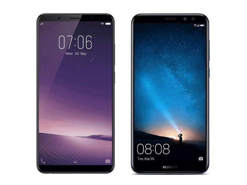 Vivo V7+ Vs Huawei Nova 2i Specs Comparison