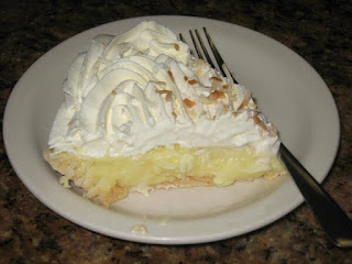 Bluebonnet Cafe Coconut Cream Pie