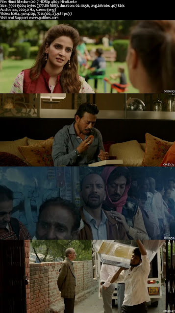 Hindi Medium 2017 HDRip 480p Hindi