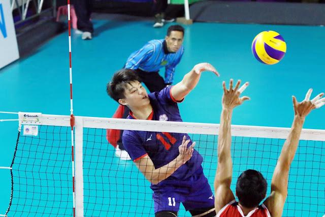 Môn bóng chuyền Asian Games 2018: nam Trung Quốc thắng Thái Lan 3-2
