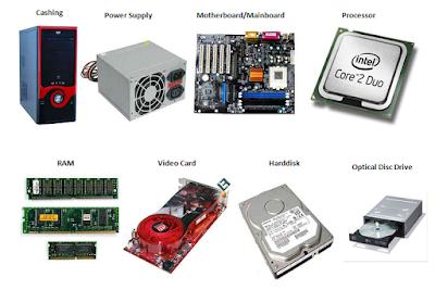 Komponen - Komponen Komputer dan Fungsinya