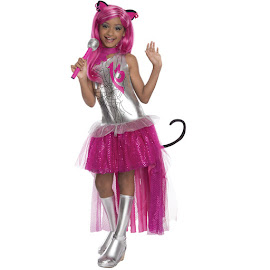 Monster High Rubie's Catty Noir Outfit Child Costume