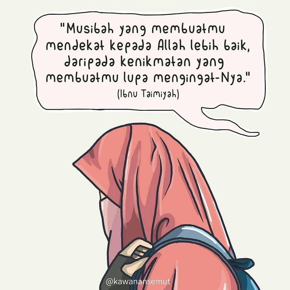 Gambar Kartun Muslimah Yang Lagi Sedih Gambar Kartun