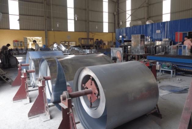 Quy trình sản xuất ống gió tại nhà xưởng TPP