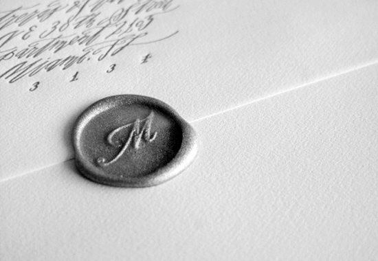 Wax Seals For Wedding Invitations: Loving Wedding Invitation Wax Seals