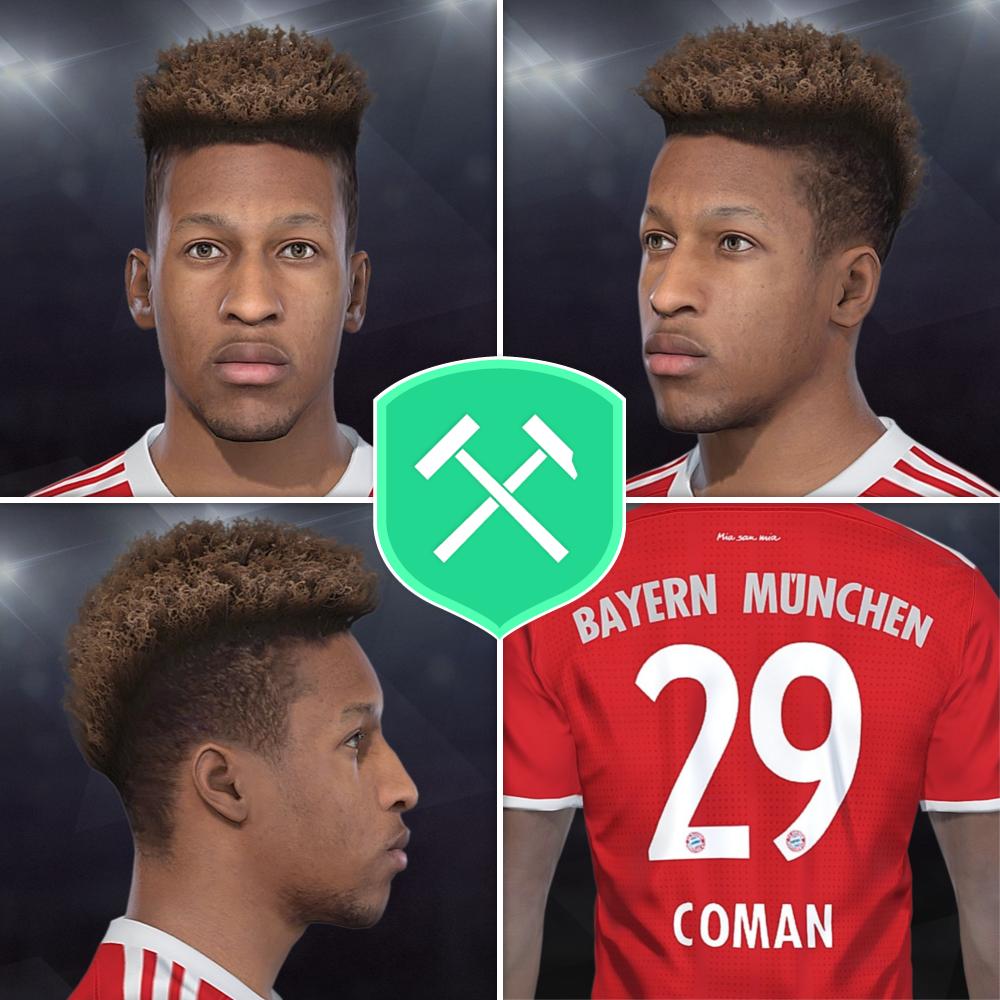 PES 2018 Kingsley Coman [FC Bayern München] Face by Volun