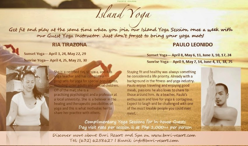 Island Yoga at Buri Resort & Spa