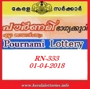 POURNAMI RN-333 LOTTERY RESULT