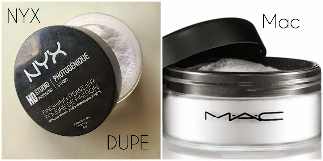 MAC Prep & Primer Powder Dupe