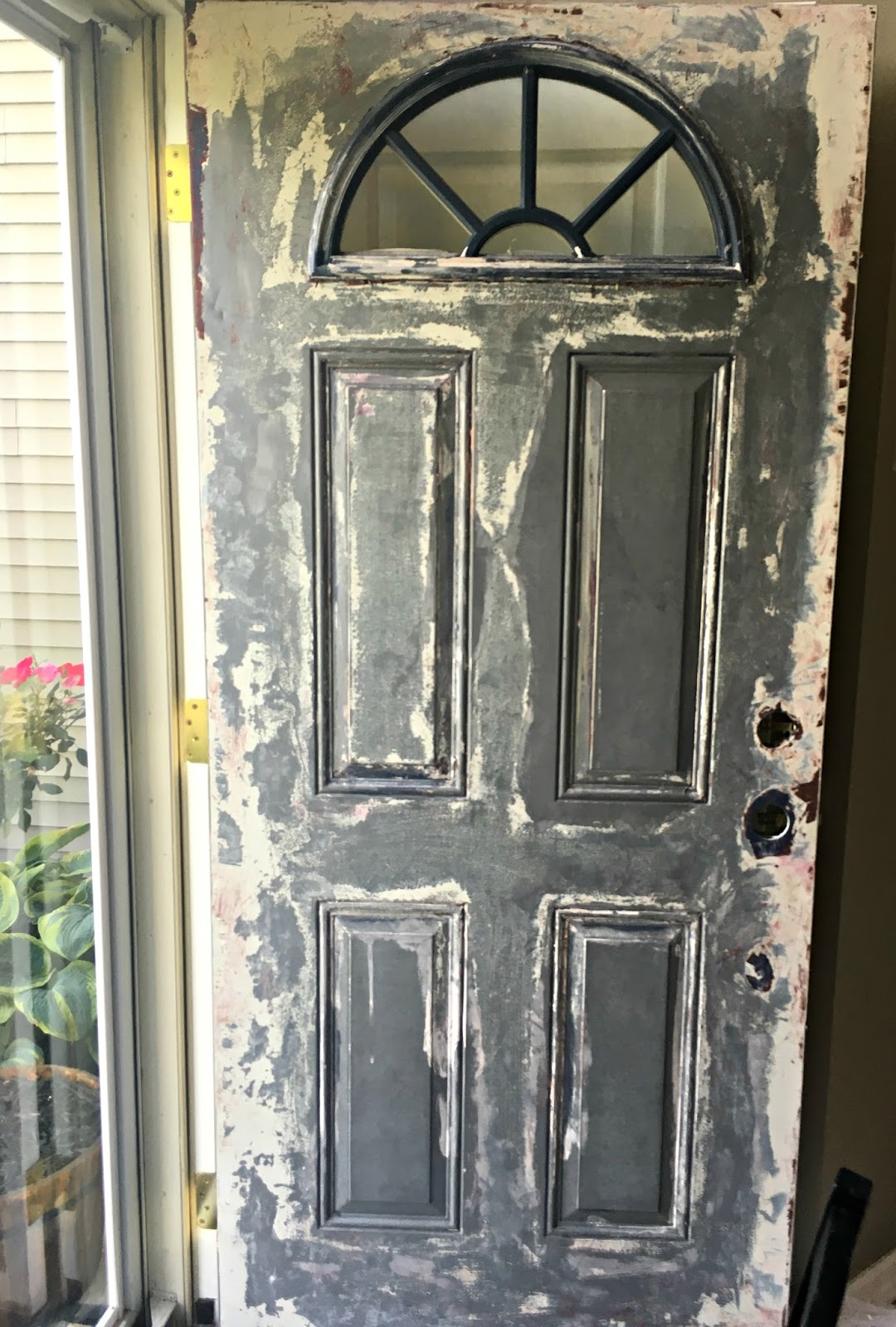 Restyle It Wright Stripping Our Front Door The Good The