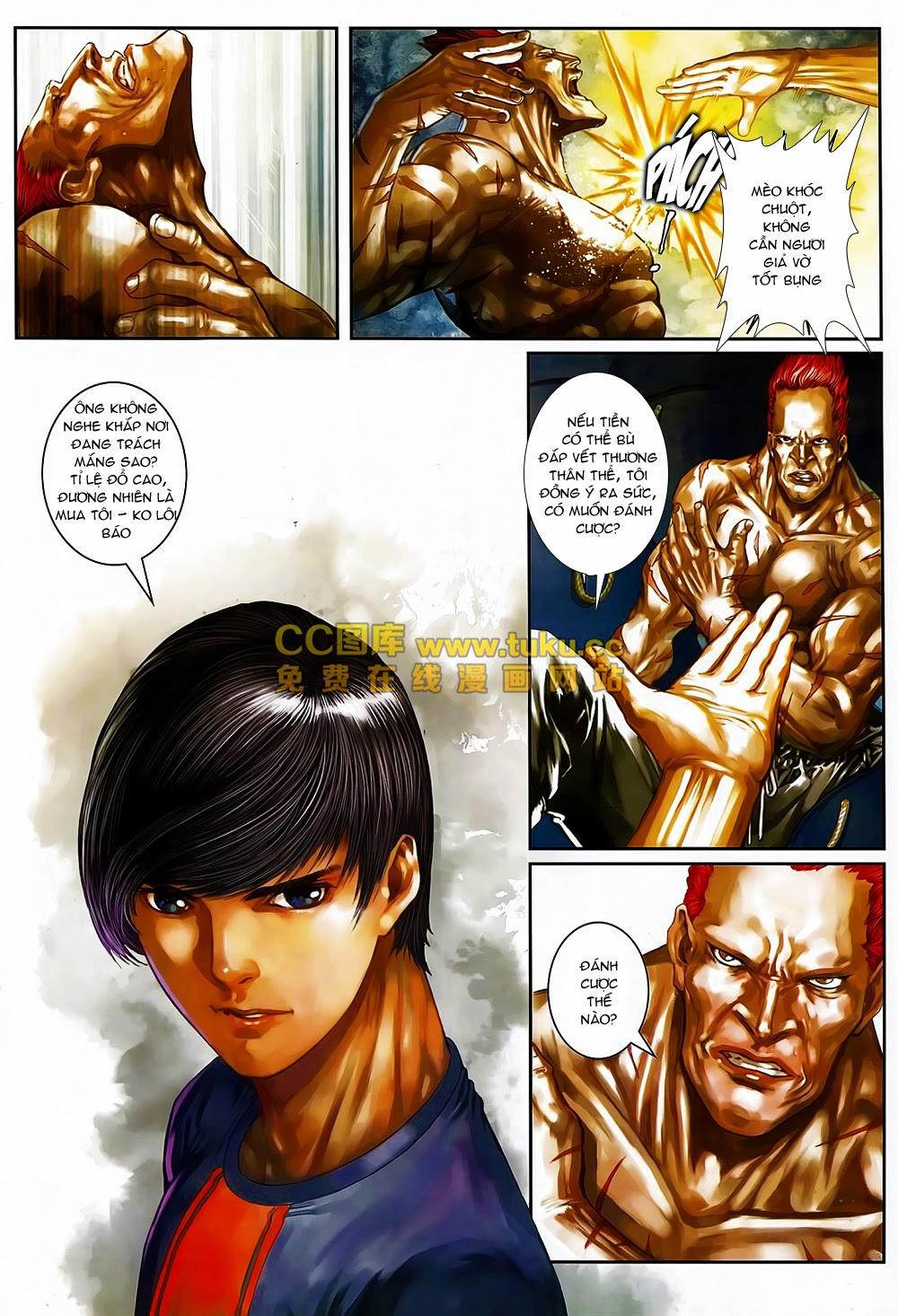 Quyền Đạo chapter 6 trang 16