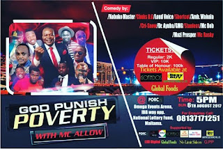[Event] God Punish Poverty | With Mc. Allow