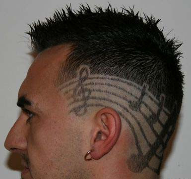 hair tattoo tattoos photo gallery
