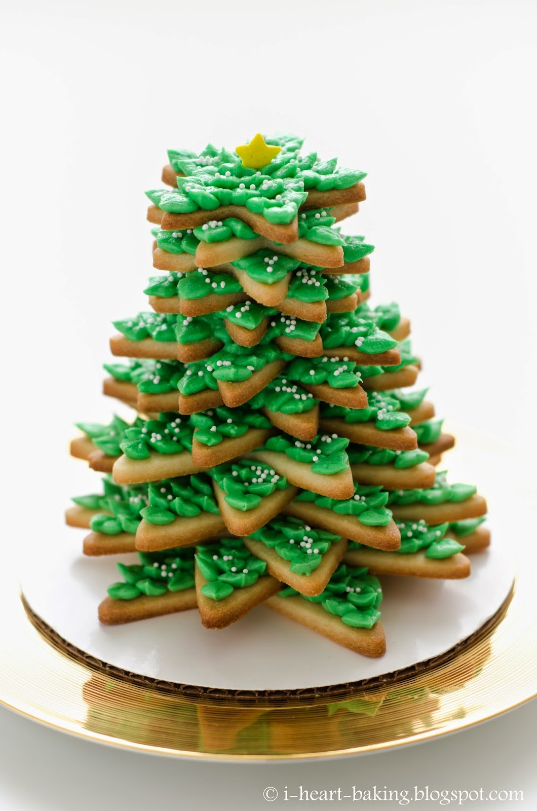 i heart baking!: 3D cookie christmas tree