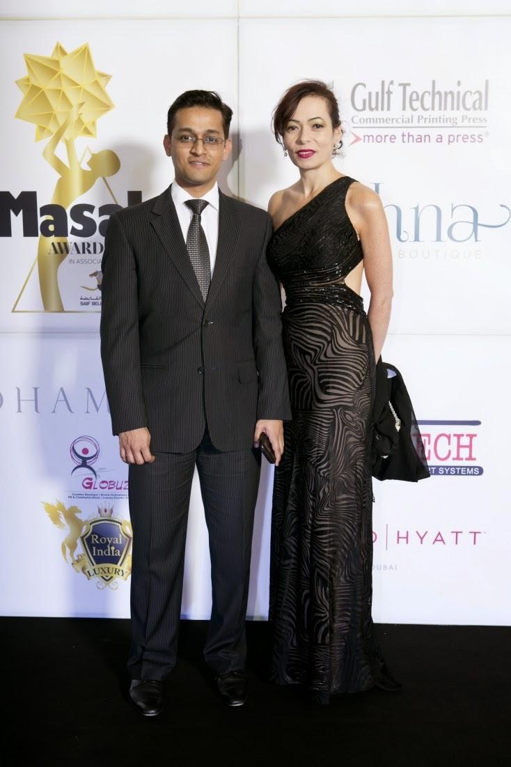 Soumya Mukherjee and Kezia Da Rocha, Masala! Awards 2014 Photo Gallery