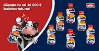 Vacuta Müllermilch a ascuns 10.000 de euro!