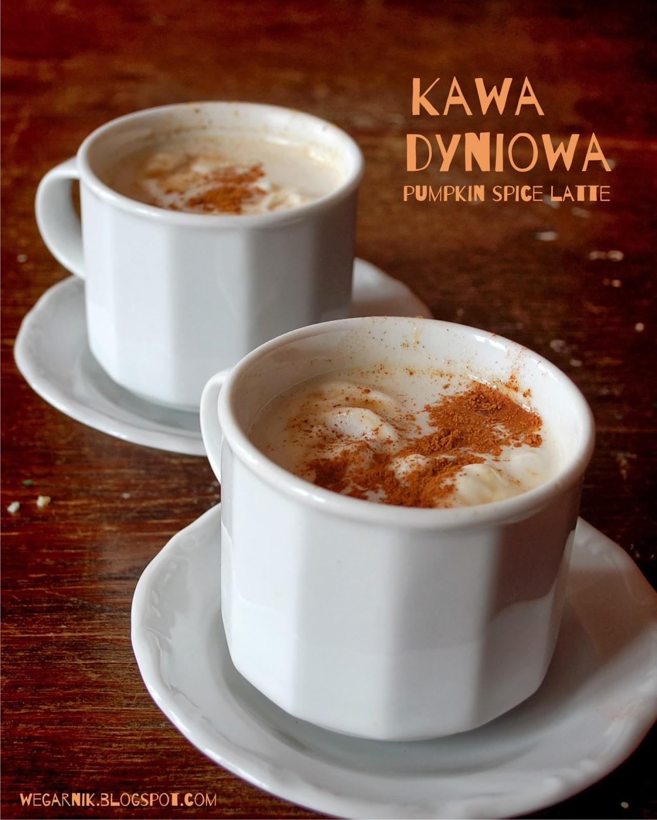 Wegarnik: Kawa Dyniowa- Pumpkin Spice Latte