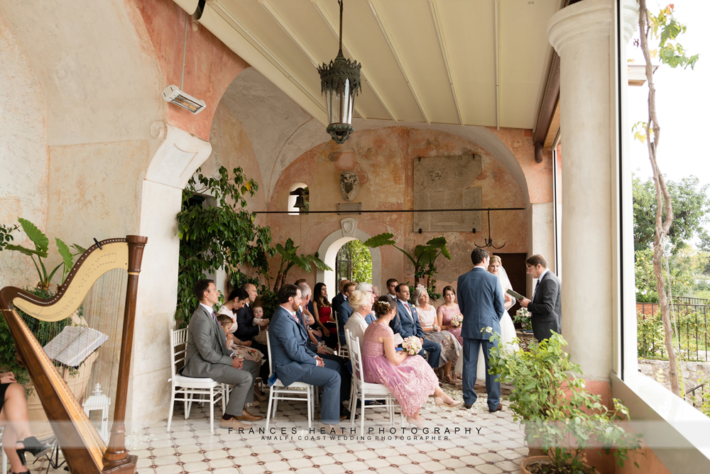 Wedding ceremony Villa San Giacomo