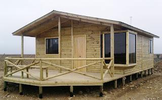 casa prefabricada azocar 38,44 metros cuadrados